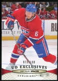 2011/12 Upper Deck Exclusives #104 Jaroslav Spacek /100