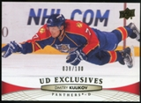 2011/12 Upper Deck Exclusives #124 Dmitry Kulikov /100