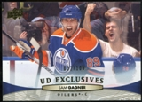 2011/12 Upper Deck Exclusives #128 Sam Gagner /100
