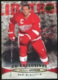 2011/12 Upper Deck Exclusives #133 Nicklas Lidstrom /100
