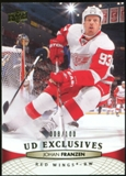 2011/12 Upper Deck Exclusives #134 Johan Franzen /100