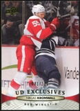 2011/12 Upper Deck Exclusives #136 Niklas Kronwall /100