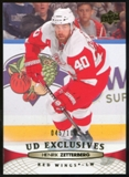 2011/12 Upper Deck Exclusives #138 Henrik Zetterberg /100