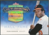 2005 Upper Deck Hall of Fame #FR2 Frank Robinson Class of Cooperstown Rainbow #1/1