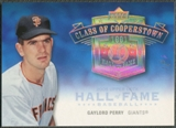 2005 Upper Deck Hall of Fame #GP1 Gaylord Perry Class of Cooperstown Rainbow #1/1