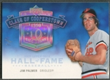 2005 Upper Deck Hall of Fame #JP2 Jim Palmer Class of Cooperstown Rainbow #1/1