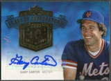2005 Upper Deck Hall of Fame #GC1 Gary Carter Class of Cooperstown Rainbow Auto #1/1