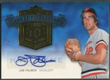2005 Upper Deck Hall of Fame #JP2 Jim Palmer Class of Cooperstown Rainbow Auto #1/1
