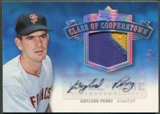 2005 Upper Deck Hall of Fame #GP1 Gaylord Perry Class of Cooperstown Rainbow Patch Auto #1/1