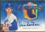 2005 Upper Deck Hall of Fame #DS1 Don Sutton Class of Cooperstown Rainbow Patch Auto #1/1