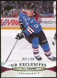 2011/12 Upper Deck Exclusives #154 Paul Stastny /100