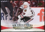 2011/12 Upper Deck Exclusives #160 Jonathan Toews /100