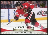 2011/12 Upper Deck Exclusives #161 Patrick Sharp /100