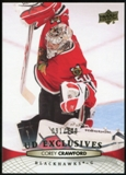 2011/12 Upper Deck Exclusives #165 Corey Crawford /100