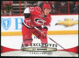 2011/12 Upper Deck Exclusives #167 Jeff Skinner /100