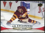 2011/12 Upper Deck Exclusives #176 Matt Stajan /100