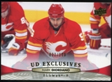 2011/12 Upper Deck Exclusives #178 Mark Giordano /100