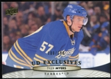 2011/12 Upper Deck Exclusives #183 Tyler Myers /100
