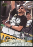 2011/12 Upper Deck Exclusives #187 Tim Thomas /100