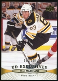 2011/12 Upper Deck Exclusives #189 Brad Marchand /100