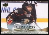2011/12 Upper Deck Exclusives #196 Jonas Hiller /100
