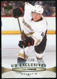 2011/12 Upper Deck Exclusives #198 Cam Fowler /100