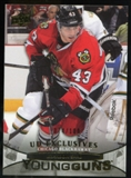 2011/12 Upper Deck Exclusives #207 Brandon Saad YG /100