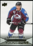 2011/12 Upper Deck Exclusives #208 Gabriel Landeskog YG /100