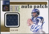 2011 SP Authentic #233 Colin Kaepernick Rookie Patch Auto #418/699