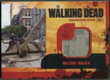 2011 The Walking Dead #M12 Military Walker Wardrobe Memorabilia