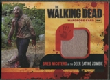 2011 The Walking Dead #M13 Deer Eating Zombie Wardrobe Memorabilia