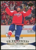 2011/12 Upper Deck Exclusives #260 Troy Brouwer /100