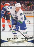 2011/12 Upper Deck Exclusives #273 Manny Malhotra /100