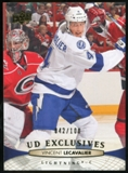 2011/12 Upper Deck Exclusives #282 Vincent Lecavalier /100