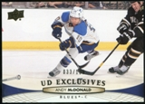 2011/12 Upper Deck Exclusives #288 Andy McDonald /100