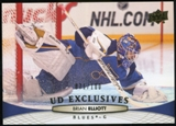 2011/12 Upper Deck Exclusives #289 Brian Elliott /100
