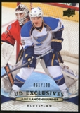 2011/12 Upper Deck Exclusives #292 Jamie Langenbrunner /100