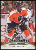 2011/12 Upper Deck Exclusives #317 Wayne Simmonds /100