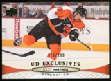 2011/12 Upper Deck Exclusives #318 Scott Hartnell /100