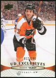 2011/12 Upper Deck Exclusives #320 Maxime Talbot /100