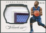 2013/14 Panini Flawless #69 Kemba Walker Patch #06/20