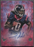 2013 Topps Inception #105 DeAndre Hopkins Rookie Red Auto #03/25