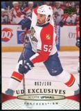 2011/12 Upper Deck Exclusives #374 Scottie Upshall /100
