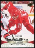 2011/12 Upper Deck Exclusives #387 Pavel Datsyuk /100