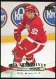 2011/12 Upper Deck Exclusives #389 Jonathan Ericsson /100