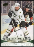 2011/12 Upper Deck Exclusives #395 Sheldon Souray /100