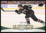2011/12 Upper Deck Exclusives #398 Stephane Robidas /100