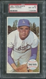 1964 Topps Giants Baseball #3 Sandy Koufax SP PSA 8 (NM-MT) *4088