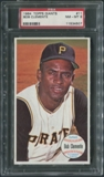 1964 Topps Giants Baseball #11 Roberto Clemente PSA 8 (NM-MT) *4507