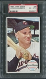 1964 Topps Giants Baseball #38 Harmon Killebrew PSA 8 (NM-MT) *6471
